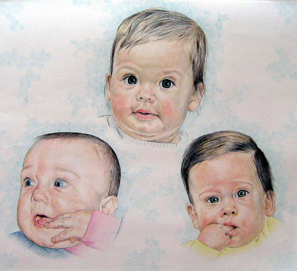 Kleinkinderen Roosemalen